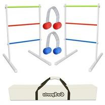 9 Piece Premium Metal Ladder Toss Game Set