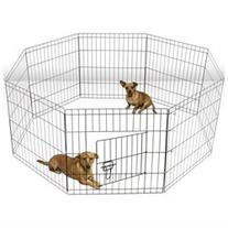 OxGord Metal Wire Exercise Pet Playpen