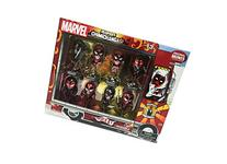 Exclusive Deadpool Metallic Chrome Figure Set of 8