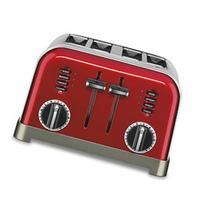 Cuisinart Metallic Red Classic Metal 4-Slice Toaster