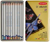 Derwent Watercolor Pencils, Metallic, Water Color, Drawing,