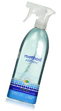 Method Products 01152 Antibacterial Spray, Bathroom,