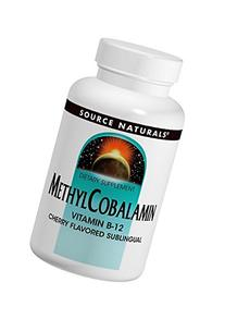 Methylcobalamin Source Naturals, Inc. 60 Tabs