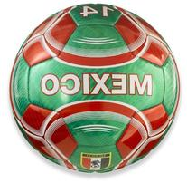 Vizari Mexico Soccer Ball, Green, 5