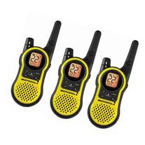 Motorola MH230TPR Rechargeable Two Way Radio 3 Pack, FRS/