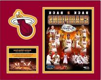 Miami Heat 2013 NBA Finals Champions Collage 11x14 Custom