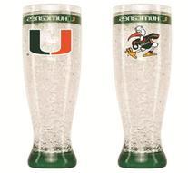 Miami Hurricanes Official NCAA 16 fl. oz. Crystal Pilsner