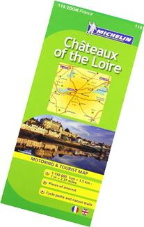 Chateaux of the Loire 116 ) 1:150K