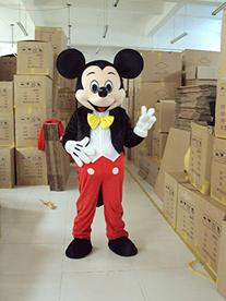 Mickey Mouse Ace Mickey Mascot Costume Cartoon Character