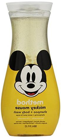 Method Mickey Mouse Shampoo and Body Wash, Lemonade, 18