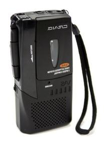 Craig Micro Cassette Voice Recorder with LED Recording