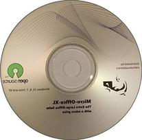 Micro-Office-XL 2016 office suite CD compatible with