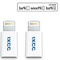 iXCC Micro USB to Apple MFi Certified 8 pin Lightning