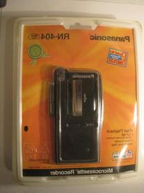 Panasonic Microcassette Recorder RN-404 VAS Voice Activated