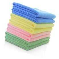 VibraWipe VWM-08 Microfiber Cleaning Cloths, 4 Colors - 8-