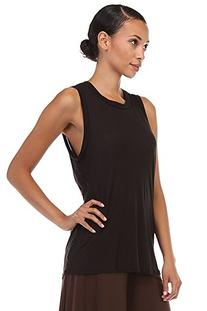 MICROMODAL TANK TOP WITH OPEN BACK TWIST