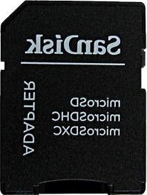 Sandisk MicroSD MicroSDHC to SD SDHC Adapter. Works with