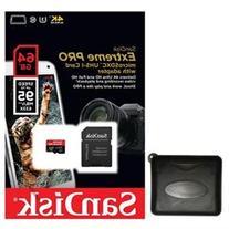 SanDisk 64GB microSD Extreme Pro 95MB/s UHS U3 4K C10 64G