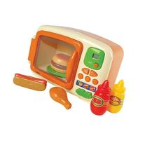 Microwave & Food Playset with sounds