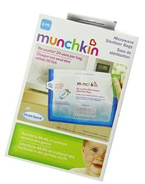 Munchkin Microwave Sterilizer Bags - 6 Count