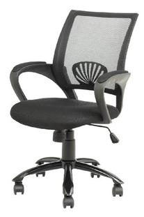 Mid Back Mesh Ergonomic Computer Desk Office Chair, Red, One