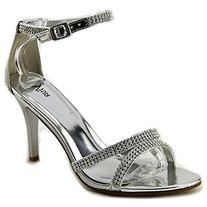 Womens Mid Heels Bridal Pumps Evening Ankle Strap Prom