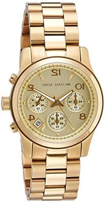 Michael Kors Midsized Chronograph Gold Tone Womens Watch