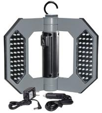 Might-D-Light LED130, LED Rechargeable Gray Folding