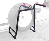Swagman Mighty Rack - Around the Spare RV Bike Rack