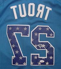 Mike Trout Los Angeles Angels Autographed 2013 All Star #27