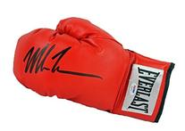 Mike Tyson Signed Red Glove Everlast PSA/DNA ITP
