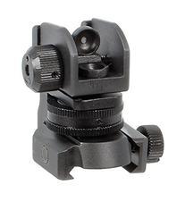 UTG Mil-Spec Sub-compact Rear Sight w/Full W/E Adjustment
