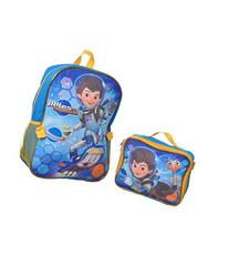"Miles from Tomorrowland ""Pet Ostrich"" Backpack with Lunchbox"