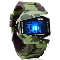 Military Cool LED Display Colorful Light Digital Sport