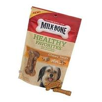 Milk Healthy Favorites Chewy Treats With Real Chicken Dog