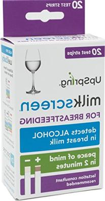 UpSpring Milkscreen Quick Accurate Test for Alcohol in