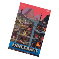 """Minecraft, Cube, 22"""" x 34"""" Wall Posters"""