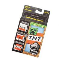 Minecraft Crafting Cubes Design Kit by Mattel Toys
