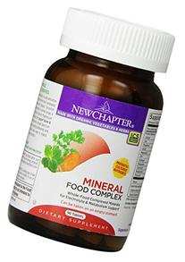 New Chapter Mineral Food Complex, 90 Tablets