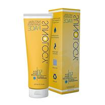 Sunology Face Mineral Sunscreen Moisturizing SPF 50 Broad