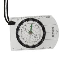 Mini All in 1 Outdoor Hiking Camping Baseplate Compass Map