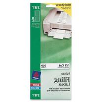 Avery Mini-Sheets Labels, 3.4735 x 0.66 Inches, White, 300