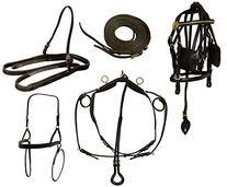 Derby Originals Mini Horse Driving Harness Premium Leather