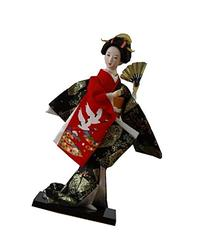 Fuji Mini Kimono Doll Office Desk Decorative Flower