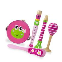 Princess Pollywog's Music Makers 5-piece Wooden Instrument
