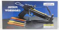 50 lb. Mini Crossbow Pistol Hand Held Gun Archery Hunting