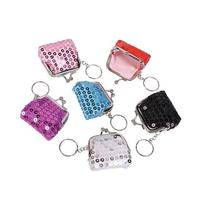 Mini Sequin Key Chain Purses