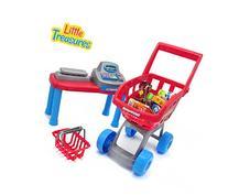 Little Treasures Mini Toddler Size Supermarket PlaySet -