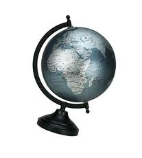 Miniature Dollhouse Globe World Earth Green Ocean Car Office
