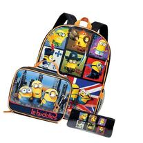 Minions Characters Kids Carry Backpack Set